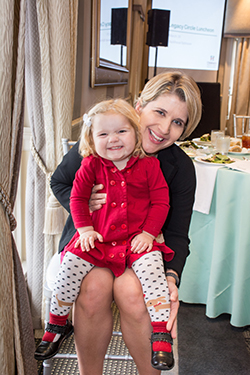 Sutton and her mom, Brittany Burnett, remain hopeful for a cure to cystic fibrosis.